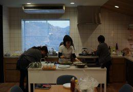 キッチンスタジオにて社内研修