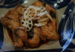 めんつゆレシピ|白身魚の揚げびたし